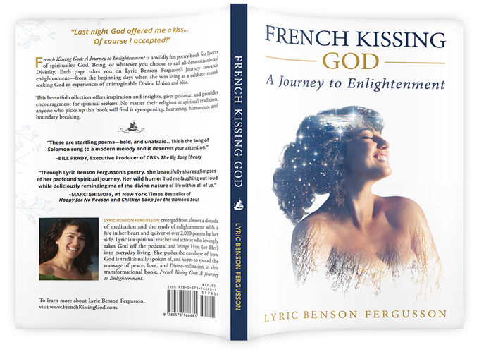 french kissing god cover design